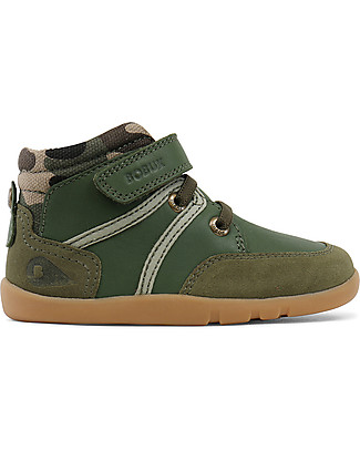 Bobux I-Walk Classic Scoot Boot, Army Shoes