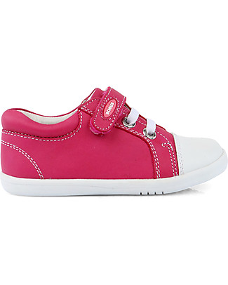 Bobux I-Walk Classic Trouble Shoe, Fuchsia - Super flexible sole! Shoes