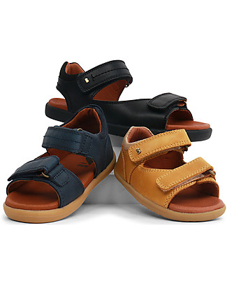 Bobux I-Walk Driftwood Sandal, Chartreuse – Super flexible sole! Shoes