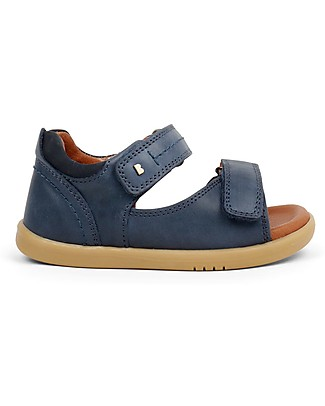 Bobux I-Walk Driftwood Sandal, Navy – Super flexible sole! Shoes
