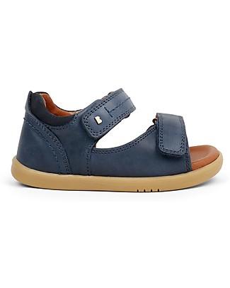 Bobux I-Walk Driftwood Sandal, Navy - Super flexible sole! Shoes
