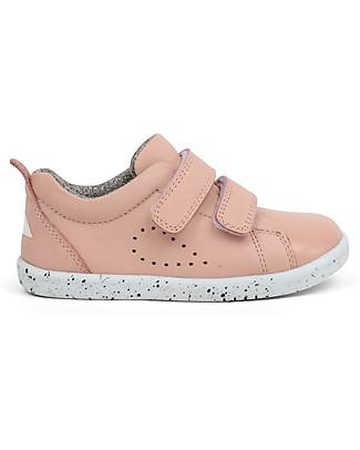 Bobux I-Walk Grass Court Shoe, Blush – Super flexible sole! Shoes