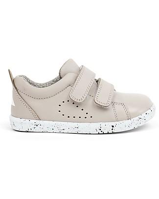 Bobux I-Walk Grass Court Shoe, Grey – Super flexible sole! Shoes