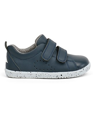 Bobux I-Walk Grass Court Shoe, Navy - Super flexible sole! Shoes