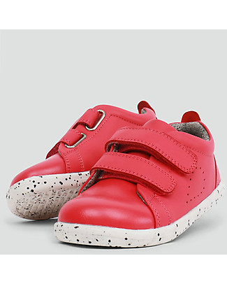 Bobux I-Walk Grass Court Shoe, Watermelon - Super flexible sole! Shoes