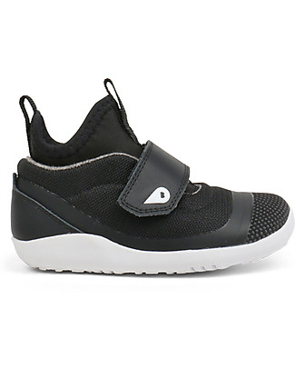 Bobux I-Walk Hi Dimension Shoe, Black - Super comfort for Active feet! Shoes