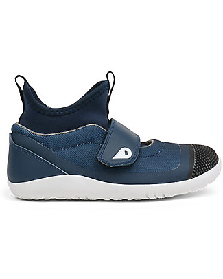 Bobux I-Walk Hi Dimension Shoe, Blue - Super comfort for Active feet! Shoes