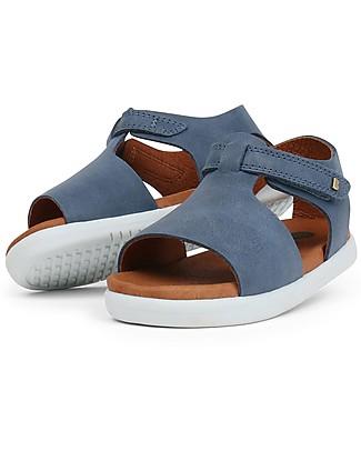 Bobux I-Walk Mirror Sandal, Denim - Super flexible sole! Shoes