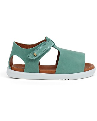 Bobux I-Walk Mirror Sandal, Teal - Super flexible sole! Shoes