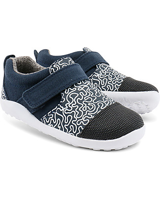 Bobux I-Walk Play Aktiv Shoe, Navy - Super flexible sole! Shoes