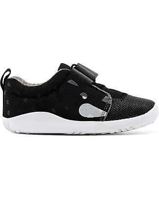 Bobux I-Walk Play Shoe, Blaze Panther Black - Super flexible sole! Shoes