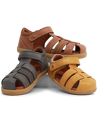 Bobux I-Walk Roam Sandal, Charcoal - Super flexible sole! Shoes