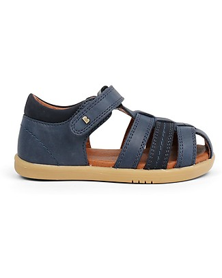 Bobux I-Walk Roam Sandal, Navy Blue - Super flexible sole! Shoes