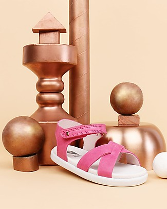 Bobux I-Walk Roman Sandal, Pink - Super flexible sole! Shoes