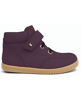 Bobux I-Walk Timber Boot, Plum - Comfort and Protection for Cooler Climates! Shoes