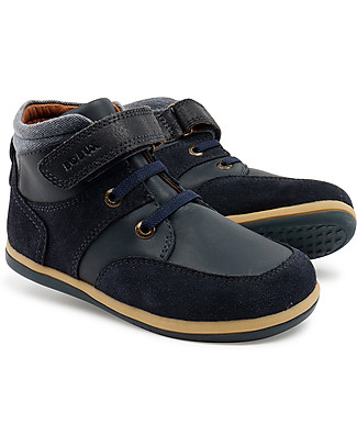 Bobux Kid Classic Stomp Boot, Navy - Super flexible sole! Shoes