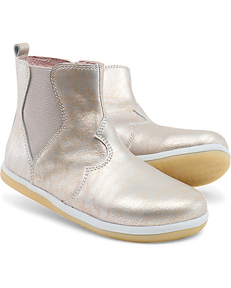 Bobux Kid Classic Vault Boot, Molten Gold-Silver Shoes