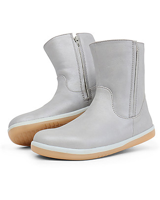 Bobux Kid Shire Shimmer Boot, Silver - Perfect for any Occasion! Shoes