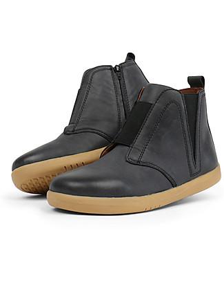 Bobux Kid Signet Boot, Black Ash - Simple but Stilish! Shoes
