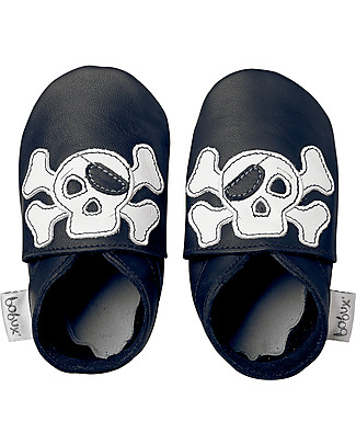 Bobux Soft Sole, Black Jolly Roger - The next best thing after bare feet! Shoes