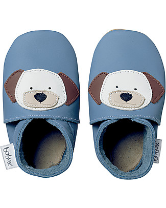 Bobux Soft Sole, Blue with Puppy - The next best thing after bare feet! Shoes