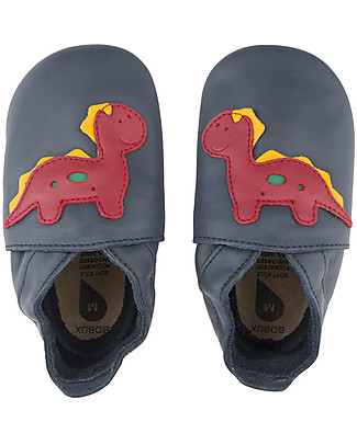 Bobux Soft Sole, Dinosaur Navy - The next best thing after bare feet! Shoes
