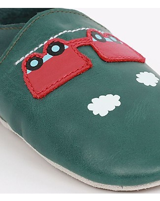 Bobux Soft Sole, Forest with Train and Carriage - The next best thing after bare feet! Bobux Soft Sole