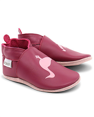 Bobux Soft Sole, Fuchsia Ducks - The next best thing after bare feet! Shoes