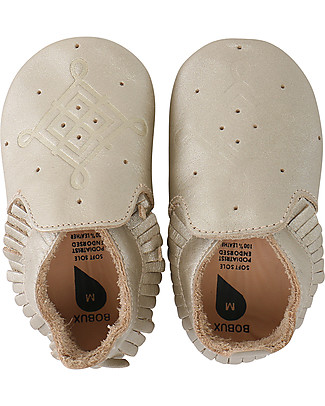 Bobux Soft Sole Golden Moccassin - The next best thing after bare feet! Shoes