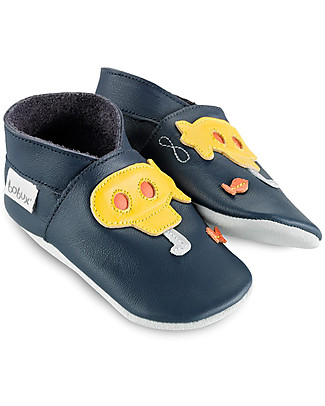 Bobux Soft Sole Grand (2-5 years), Blue Submarine - The next best thing after bare feet! Shoes