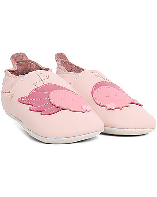 Bobux Soft Sole, Light Pink with Flamingo - The next best thing after bare feet! Bobux Soft Sole