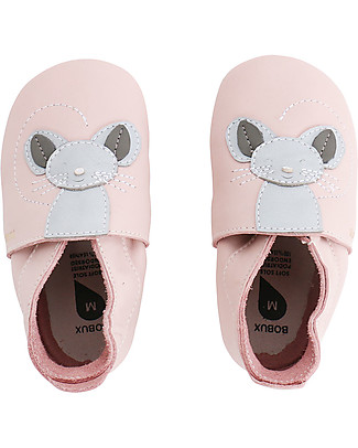 Bobux Soft Sole, Light Pink with Mouse - The next best thing after bare feet! Shoes