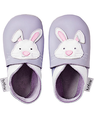 Bobux Soft Sole, Light Purple with Bunny - The next best thing after bare feet! Shoes