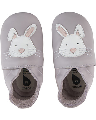 Bobux Soft Sole, Liliac with Bunny - The next best thing after bare feet! Bobux Soft Sole