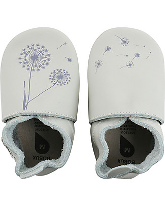 Bobux Soft Sole, Mint with Dandelions - The next best thing after bare feet! Shoes