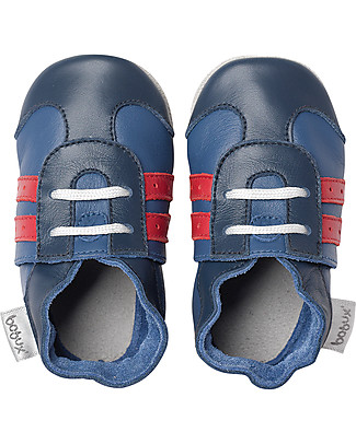 Bobux Soft Sole, Navy Sport - The next best thing after bare feet! Shoes