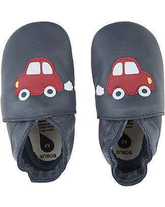 Bobux Soft Sole, Navy with Car - The next best thing after bare feet! Shoes