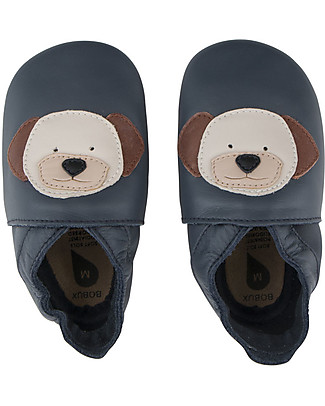 Bobux Soft Sole, Puppy Navy - The next best thing after bare feet! Bobux Soft Sole