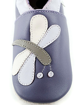 Bobux Soft Sole, Purple Dragonfly - The next best thing after bare feet! Shoes