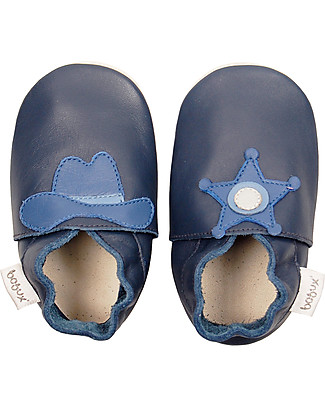 Bobux Soft Sole, Sheriff Navy - The next best thing after bare feet! Shoes