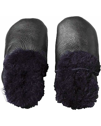 Bobux Soft Sole Shoe with Fur, Black - The next best thing after bare feet! Shoes