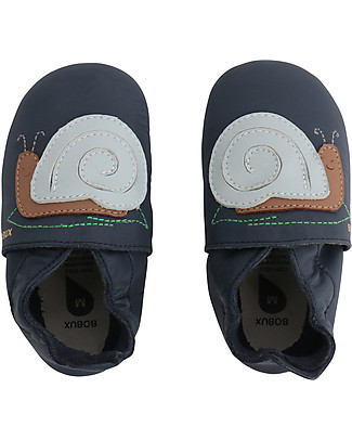 Bobux Soft Sole, Snail Navy - The next best thing after bare feet! Shoes
