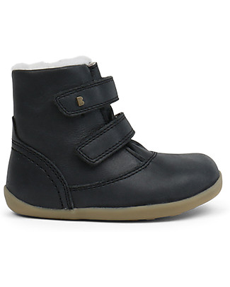 Bobux Step-Up Aspen Padded Boot, Black Ash - Waterproof technology! Shoes