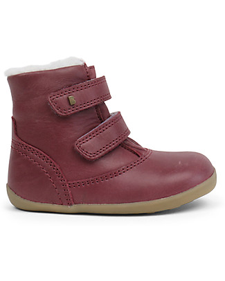 Bobux Step-Up Aspen Padded Boot, Plum – Waterproof technology! Shoes