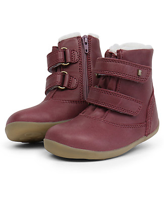 Bobux Step-Up Aspen Padded Boot, Plum - Waterproof technology! Shoes