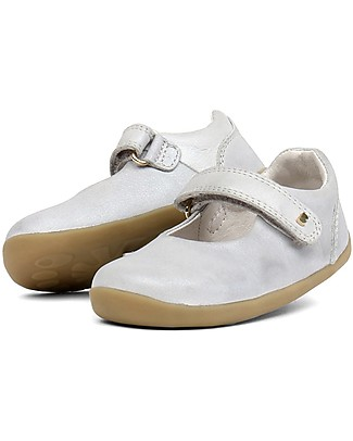 Bobux Step-Up Delight Dancer, Silver - Perfect for the first steps! Shoes