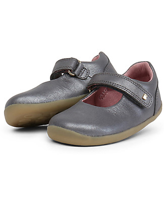 Bobux Step-Up Delight Shimmer, Charcoal - Elegant and perfect for the first steps! Special Occasion