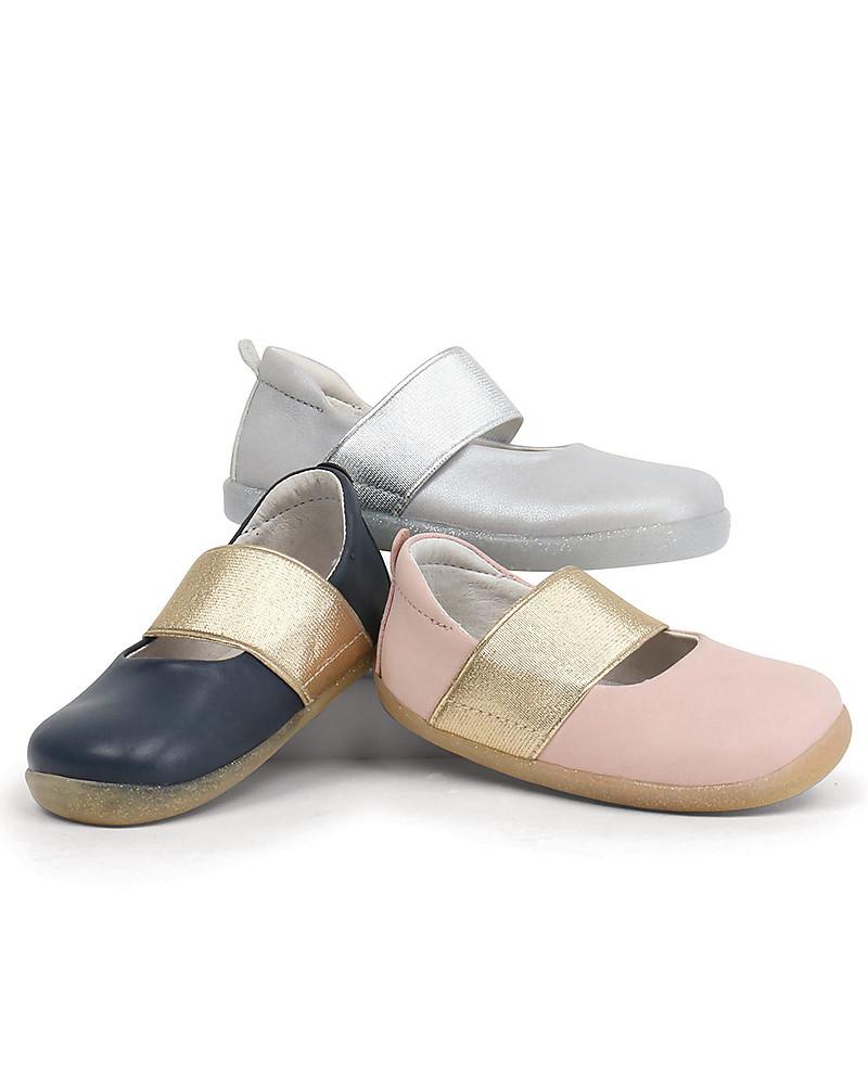Bobux Demi White Ballerina Pumps