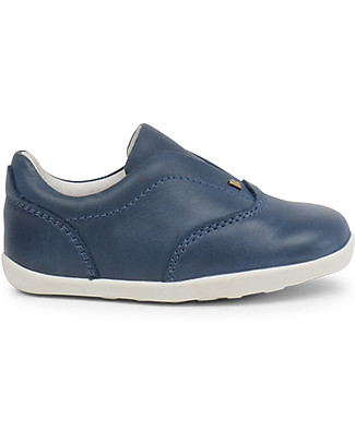 Bobux Step-Up Duke Shoe, Denim - Perfect for Baby's chubby Feet! Shoes