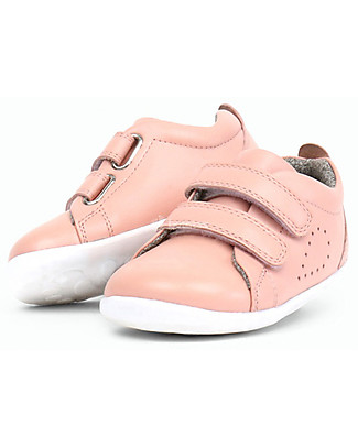 Bobux Step-Up Grass Court, Blush - Ultra flexible, perfect for first steps! Shoes